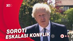 Boris Johnson Desak Israel-Palestina Menahan Diri