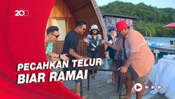 Celebrity on Vacation: Main Game Sambil Menikmati Sunset Pahawang