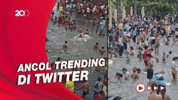 Warganet Samakan Kerumunan Ancol dengan Sungai Gangga di India