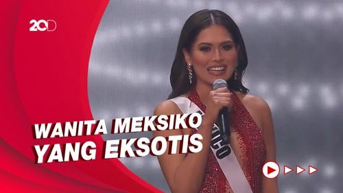 Kenalan dengan Andrea Meza, Pemenang Miss Universe 2020