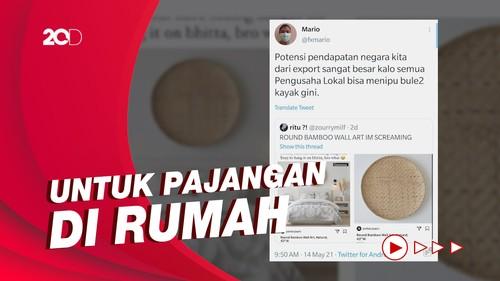 Netizen Geger Tampah Bambu di Luar Negeri Dihargai Rp 4 Juta