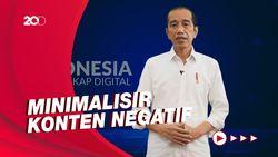 Gaungkan Literasi Digital, Jokowi Ajak Masyarakat Banjiri Konten Positif