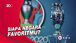 24 Negara Peserta Euro 2020: Prancis, Jerman, Portugal di Grup Neraka!