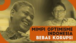 Mimpi Indonesia Bebas Korupsi Meski Ditendang dari KPK