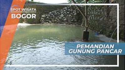 Pemandian Air Panas Alami di Gunung Pancar, Bogor