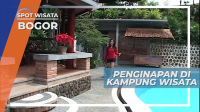 Penginapan Nyaman di Kampung Wisata Cinangneng, Bogor
