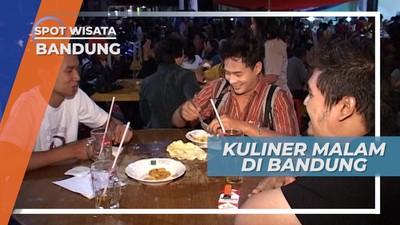 Menikmati Kuliner Malam Khas Paris Van Java, Bandung
