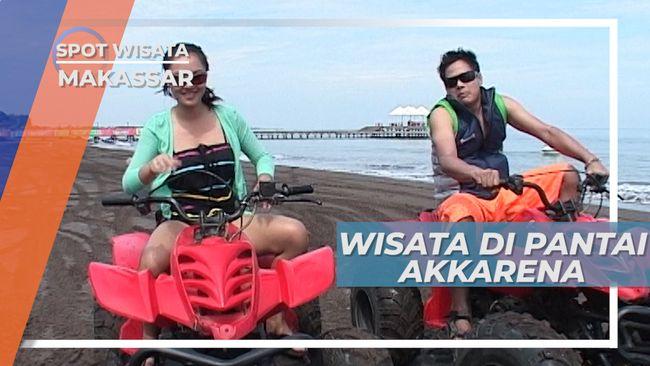Pantai Akkarena, Destinasi Wisata Pilihan Keluarga di Makassar