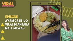 Viral, Ayam Cabe Ijo di Antara Mall Mewah Jantung Kota Jakarta