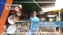 Pasar Triwindu, Surganya Pemburu Barang-barang Kuno, Solo
