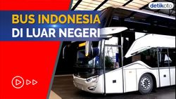 Bangga Buatan Indonesia! Bus Laksana Laris di Luar Negeri