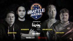 Unjuk Gigi Bareng Pro Player CODM di dBattle Arena