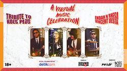 A Virtual Music Celebration : Endah N Rhesa X Vincent Desta