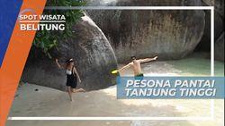 Pesona Kecantikan Pantai Tanjung Tinggi yang Menawan, Belitung