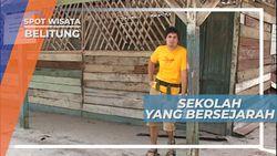 Bersepeda Menuju Replika SD Muhammadiyah di Belitung
