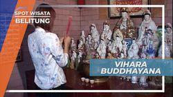 Berkunjung ke Vihara Buddhayana Belitung Timur