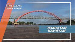 Jembatan Kahayan, Penghubung Barito Utara dan Selatan di Kota Palangkaraya