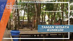 Bersantap Lezat di Tepi Sungai Kahayan Palangkaraya Kalimantan Tengah