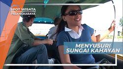 Berperahu Menyusuri Sungai Kahayan Palangkaraya Kalimantan Tengah