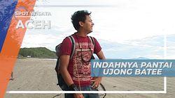 Indahnya Ujong Batee, Pantai Berlaut Biru di Dekat Pusat Kota, Aceh