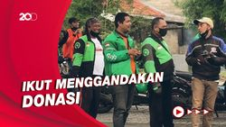 ARMY Indonesia Berdonasi untuk Driver Ojol, Gojek Beri Pujian