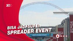 WHO Soroti Keputusan Inggris Izinkan 60 Ribu Fans Nonton di Wembley