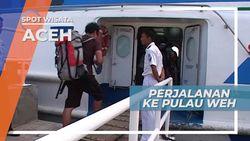 Menikmati Perjalanan Menuju Pulau Weh Dengan Naik Kapal, Aceh