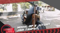 Modifikasi Yamaha Mio Street Cub