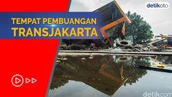 Bikin Merinding! Intip Kuburan Bus TransJakarta Warisan Ahok