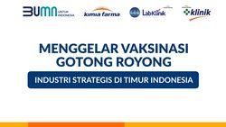 Perjalanan Vaksin Gotong Royong Menuju Titik Timur Indonesia