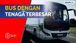 Bukan Volvo B11R, Ini Bus dengan Tenaga Terbesar di Indonesia