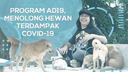 Besut Program AD19, Doni Tolong Anabul Terdampak COVID-19