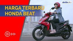 Tampil Lebih Segar, Segini Harga Honda Beat Baru Per Juli 2021