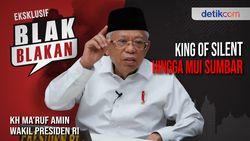 Blak-blakan Wapres Maruf Amin Silent Bukan Berarti Tak Kerja
