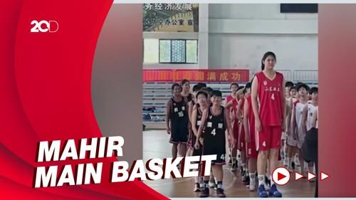 Viral Gadis 14 Tahun Ini Tingginya Capai 2,26 Meter