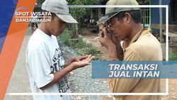 Transaksi Jalanan Jual Beli Intan Banjarbaru Kalimantan Selatan
