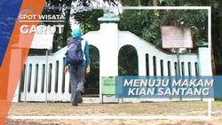 Makam Kian Santang, Melangkahkan Kaki Melalui Seratus Anak Tangga di Garut