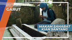 Makam Sahabat Sahabat Kian Santang di Situs Pemakaman Godog Garut