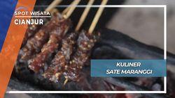 Sate Maranggi, Nikmatnya Kuliner Cianjur