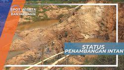 Tambang Berlian Banjarbaru kalimantan Selatan