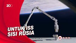 Eropa Kirim Lengan Robot Raksasa Baru ke Stasiun Luar Angkasa
