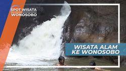 Dumaraja, Air Terjun Melalui Lorong Gua Yang Indah di Desa Beran Wonosobo