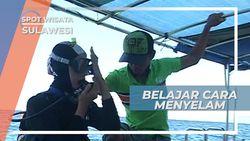 Belajar Menyelam, Mencoba Menceburkan Diri Ke Air Asin Teluk Tomini Sulawesi
