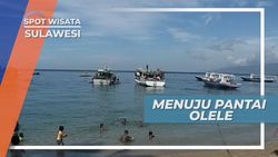 Menuju Pantai Olele, Teluk Tomini Provinsi Gorontalo