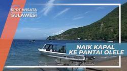 Perjalanan Laut Ke Pantai Olele,Menikmati Kebesaran Yang Maha Kuasa di Teluk Tomini Gorontalo