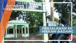 Makam Badang, Menggunakan Ojek Menembus Hutan Pulau Buru
