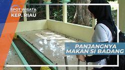 Makam Panjang Si Badang, Hulubalang Kerajaan Yang Sakti Mandraguna di Pulau Buru Riau