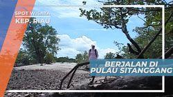 Pulau Sitanggang, Sepinya  Bersama Bulir-Bulir Pasir Pulau Sitanggang Kepulauan Riau