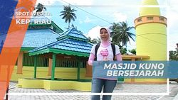 Masjid Raja Haji Abdul Ghani, Masjid Kuno Bersejarah di Pulau Buru Kepulauan Riau