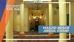 Masjid Raja Haji Abdul Ghani, Masjid Indah Berwarna Kuning Terang di Pulau Buru Kepulauan Riau